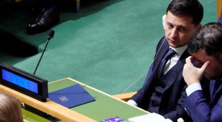 Ουκρανός πρόεδρος: Μόνο από τον γιο μου δέχομαι… πιέσεις