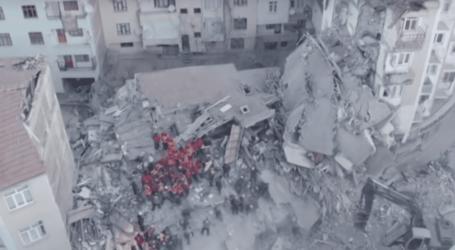 Σεισμός στην Τουρκία: Το μέγεθος της καταστροφής από drone