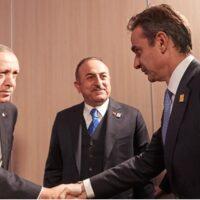 Τηλεφωνική επικοινωνία Μητσοτάκη - Ερντογάν- Συμφώνησαν ανοιχτούς διαύλους επικοινωνίας