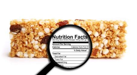 Διαβάζοντας τις διατροφικές ετικέτες