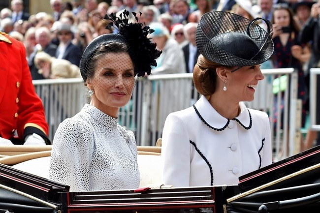 KATE MIDDLETON QUEEN LETIZIA