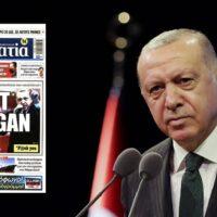 Αγωγή από τον Ερντογάν στην ελληνική εφημερίδα «Δημοκρατία»