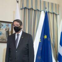 Μητσοτάκης από Κύπρο: Η Τουρκία ονειρεύεται αυτοκρατορικές πρακτικές- Ζωγραφίζει αυθαίρετους χάρτες, υπογράφει άκυρα μνημόνια