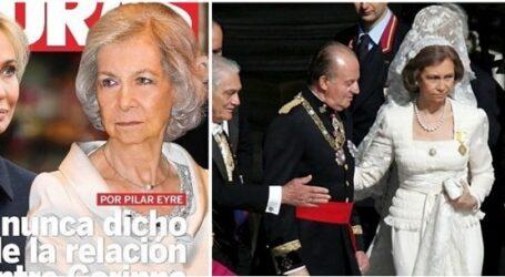 Η ερωμένη του βασιλιά: Η πρώην του Χουάν Κάρλος καταγγέλλει τη βαθιά δυστυχισμένη Σοφία