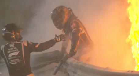 Formula 1: Σοκαριστικό ατύχημα για τον Γκροζάν – Εξερράγη και κόπηκε στη μέση το μονοθέσιό του [Εικόνες – Βίντεο]