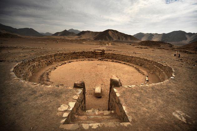 Αμφιθέατρο στην αρχαία...
