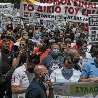 Απεργία: Εξαιρούνται οι καθηγητές, στάση εργασίας αντί 24ωρης σε τραμ και μετρό λόγω Πανελλαδικών